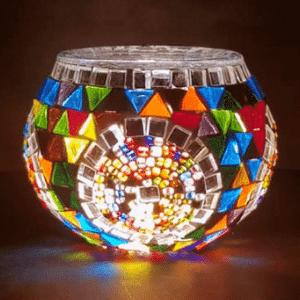 Mozaiek Waxinelichthouder Goedkoop