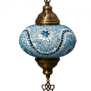 Oosterse Hanglamp Turquoise