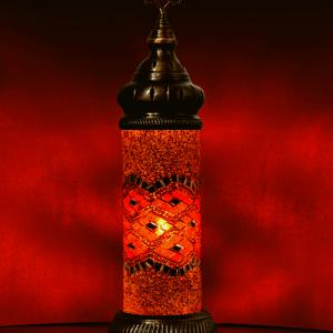 Cilinder Tafellamp Mozaiek Lampen