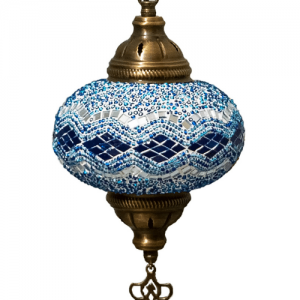 Oosterse Lamp Blauw